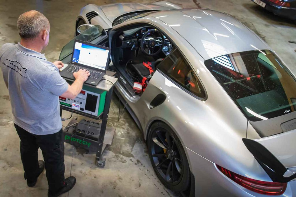 Diagnostique Porsche GT3 RS