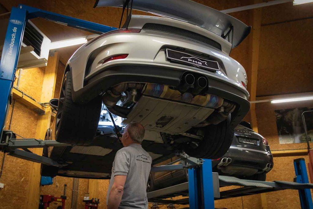 Expertise Porsche GT3 RS sur le pont