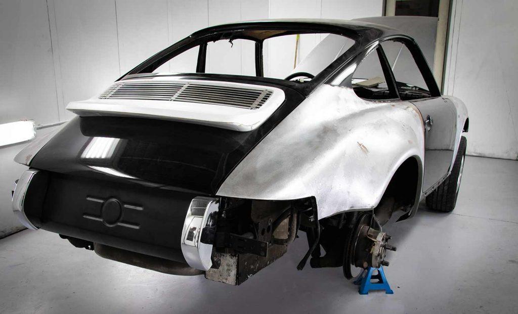 Porsche en carrosserie