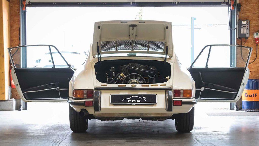 Porsche restaurée de 1970